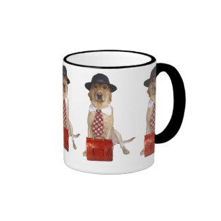 Chien professionnel mug ringer
