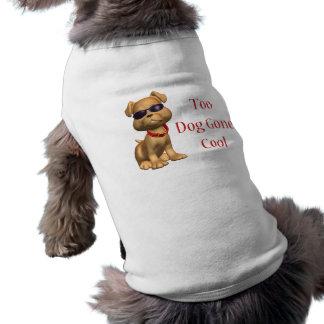 Chienchien frais allé par chien t-shirts pour animaux domestiques