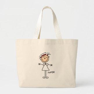 Chiffre simple T-shirts et cadeaux de bâton d'infi Sac En Toile Jumbo