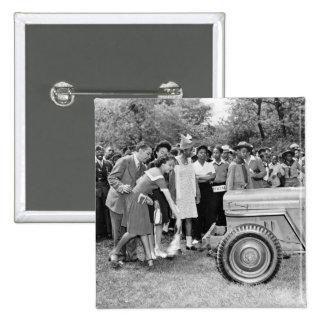 Chigago Children Do Their Part in WW2 Pinback Button