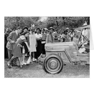 Chigago Children Do Their Part in WW2 Greeting Card