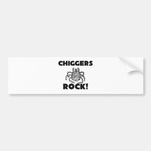 Chiggers Rock Bumper Sticker