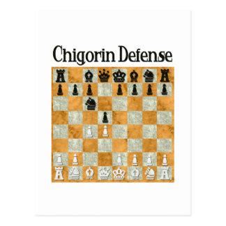 Chigorin Defense Postcard
