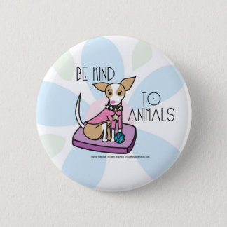 chihuaha 2 inch round button