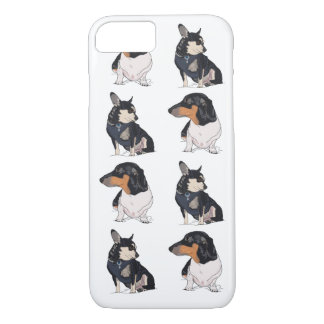 Chihuahua and Dachshund iPhone 7 Case