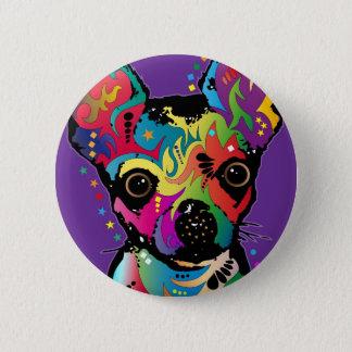 Chihuahua Art 2 Inch Round Button