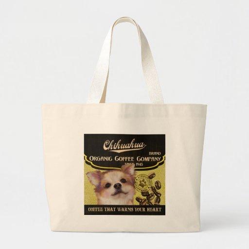 Chihuahua Brand – Organic Coffee Company Canvas Bags