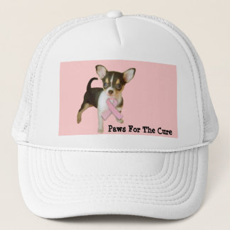 Chihuahua Breast Cancer Hat