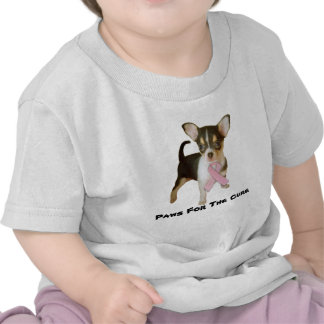 Chihuahua Breast Cancer Toddler Unisex T-Shirt