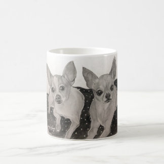 Chihuahua Buddies original artwork Coffee Mug