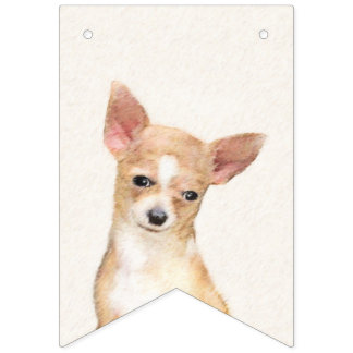 Chihuahua Bunting Flags