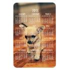 Chihuahua Calendar 2018 Photo Magnet 4x6 Large