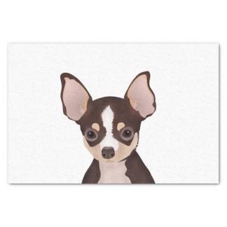 Chihuahua cartoon tissue paper