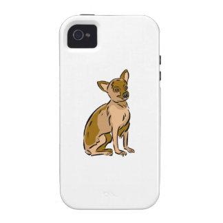 Chihuahua Vibe iPhone 4 Covers