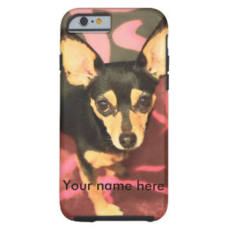 Chihuahua cell phone case tough iPhone 6 case