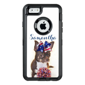 Chihuahua Cheerleader dog Otterbox phone case