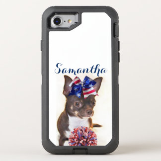 Chihuahua Cheerleader dog Otterbox phone OtterBox Defender iPhone 7 Case