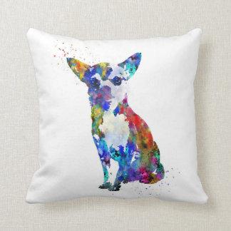 Chihuahua, Chihuahua print, watercolor Chihuahua Throw Pillow