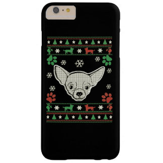 Chihuahua Christmas Barely There iPhone 6 Plus Case