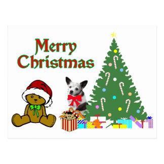 Chihuahua Christmas Postcards