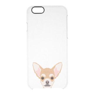 Chihuahua clear phone case - dog phone case