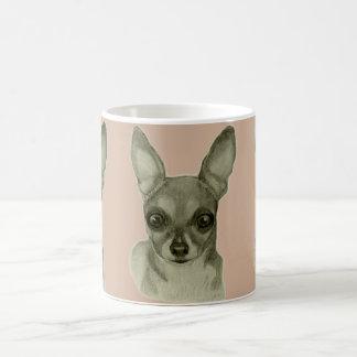 chihuahua coffee mug by artist Carol Zeock