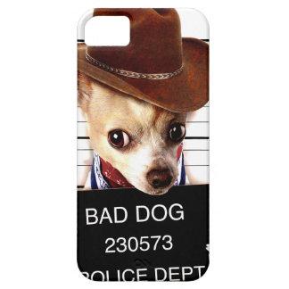 chihuahua cowboy - sheriff dog iPhone 5 cover