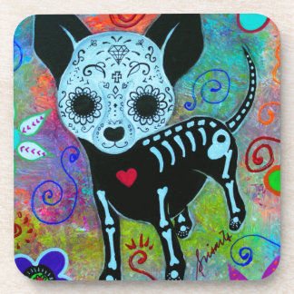 CHIHUAHUA DAY OF THE DEAD PERRO COASTERS