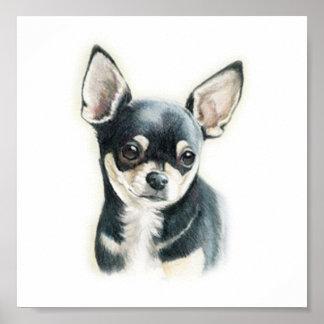 Chihuahua Dog Art Print