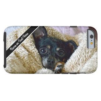 Chihuahua Dog Blanket Snuggle Photo Phone Case