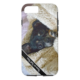 Chihuahua Dog Blanket Snuggle Photo Phone Case