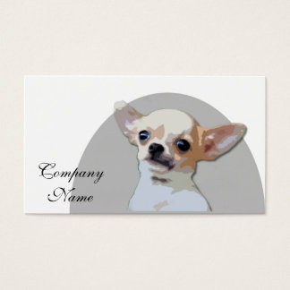 Chihuahua Dog Business Card