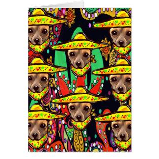 CHIHUAHUA DOG CARD