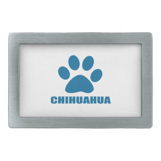 CHIHUAHUA DOG DESIGNS BELT BUCKLE