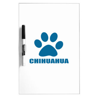 CHIHUAHUA DOG DESIGNS DRY ERASE BOARD
