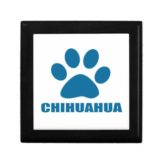 CHIHUAHUA DOG DESIGNS GIFT BOX