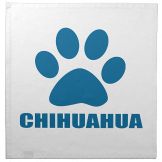 CHIHUAHUA DOG DESIGNS NAPKIN