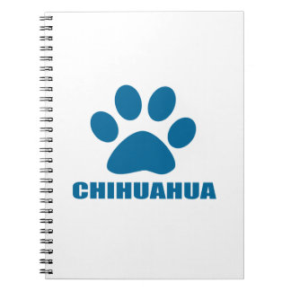 CHIHUAHUA DOG DESIGNS NOTEBOOK