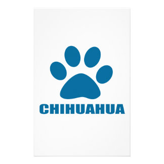 CHIHUAHUA DOG DESIGNS STATIONERY