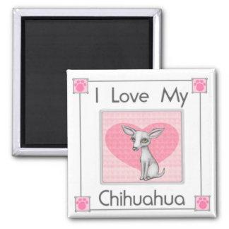 Chihuahua Dog Fridge Magnet