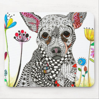 Chihuahua Dog Mousepad (You can Customize)