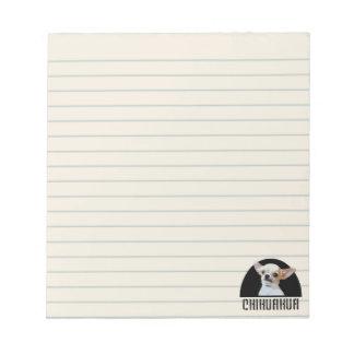 Chihuahua  dog notepad