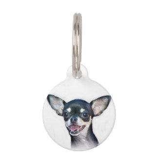 Chihuahua dog pet ID tag