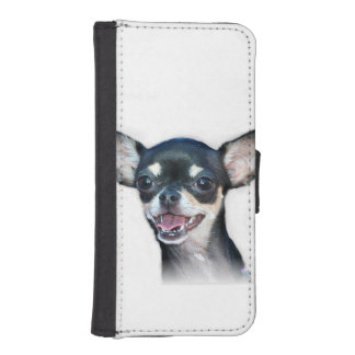 Chihuahua dog phone wallet case