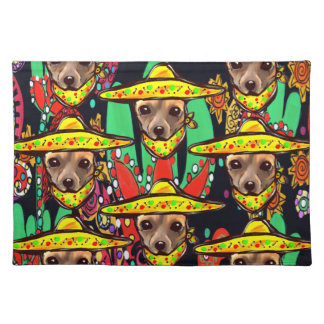 CHIHUAHUA DOG PLACEMAT