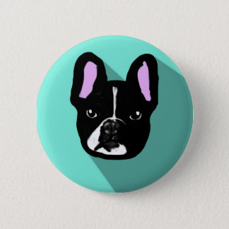chihuahua dog pop art 2 inch round button