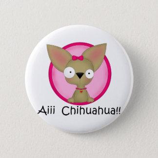 Chihuahua Dog Puppy 2 Inch Round Button