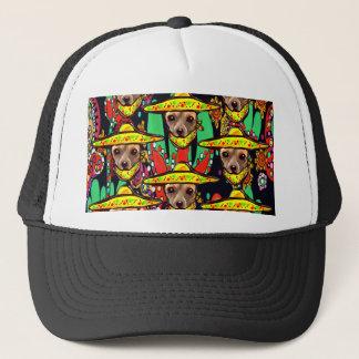 CHIHUAHUA DOG TRUCKER HAT