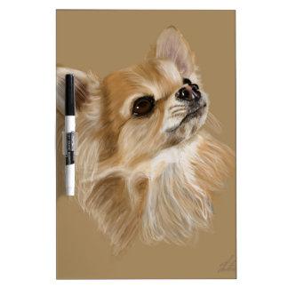 Chihuahua Dry Erase Board