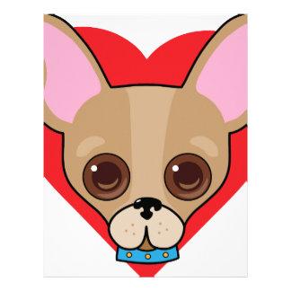 Chihuahua Face Letterhead